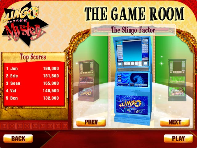 Slingo Mystery: Who's Gold Game screenshot 3