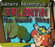 Free Solitaire Adventures of Valentin The Valiant Viking Game