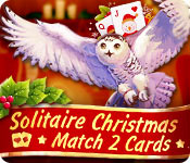 Free Solitaire Christmas Match 2 Cards Game