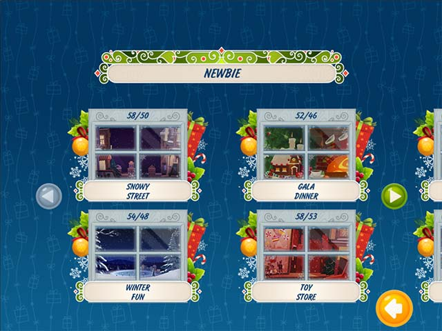 Solitaire Christmas Match 2 Cards Game screenshot 2