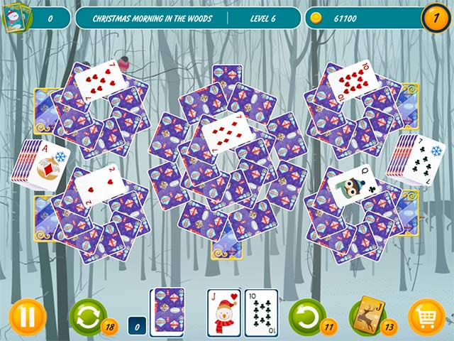 Solitaire Christmas Match 2 Cards Game screenshot 3