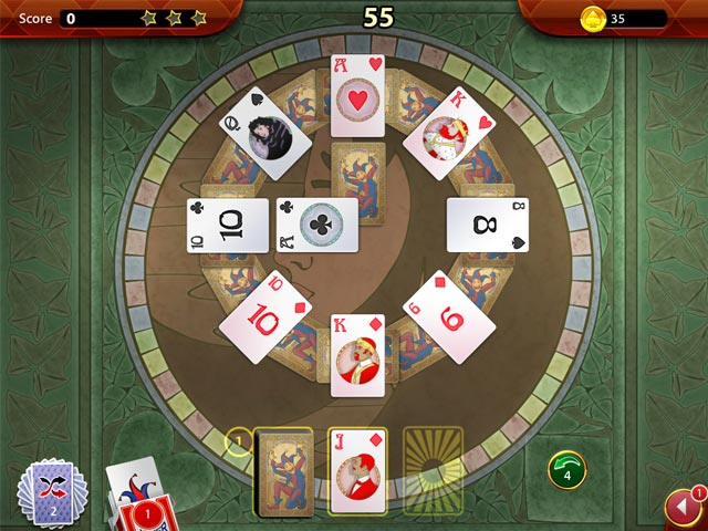 Solitaire Perfect Match Game screenshot 1