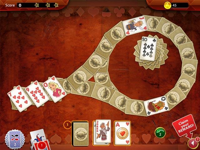 Solitaire Perfect Match Game screenshot 2