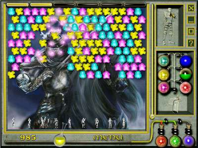 Spelled Knights of Light Game screenshot 2