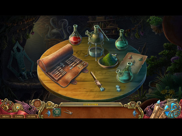Spirits of Mystery: The Lost Queen Collector's Edition Game screenshot 1