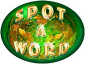 Free Spot a Word Game