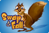 Free Swap and Fall Game
