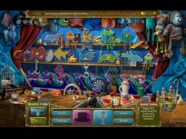 Tales of Lagoona 3: Frauds, Forgeries, and Fishsticks Game screenshot 2