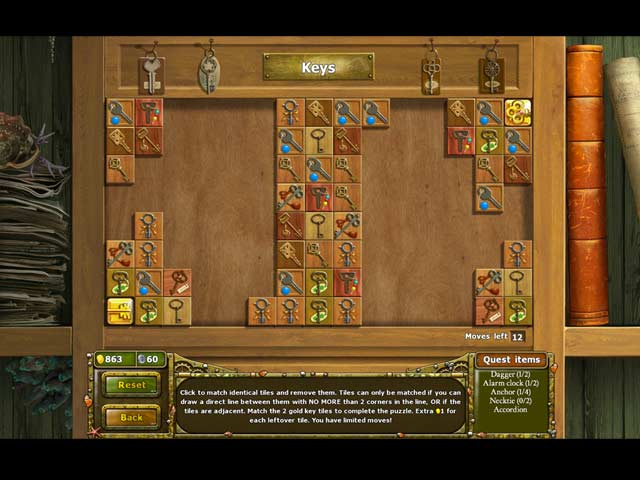 Tales of Lagoona 3: Frauds, Forgeries, and Fishsticks Game screenshot 3