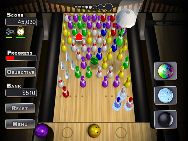 The Alley Strikes Back Game screenshot 2