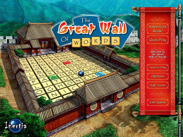 The Great Wall of Words Game screenshot 1