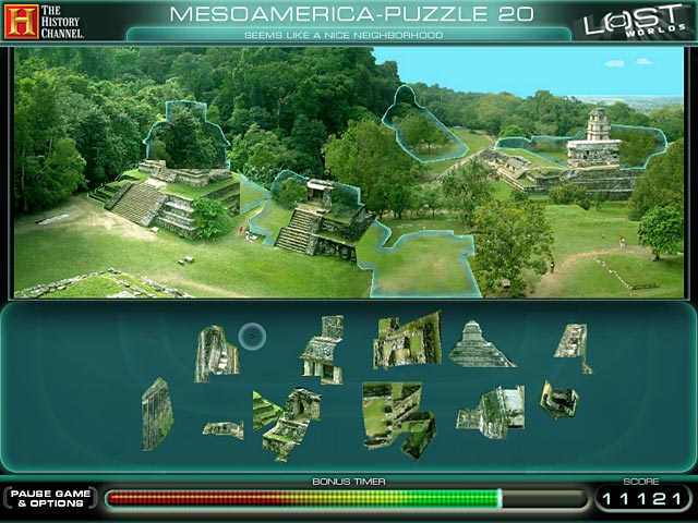 The History Channel Lost Worlds Game screenshot 1