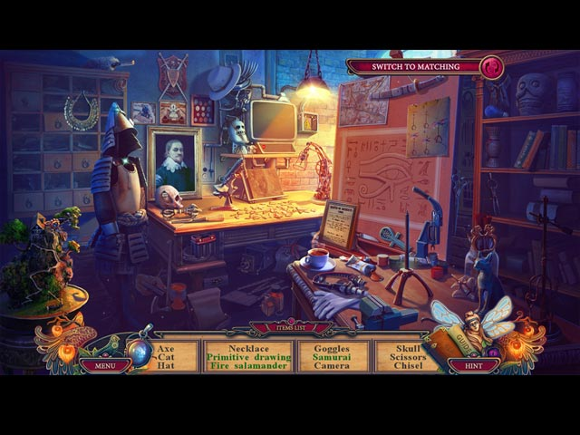 The Keeper of Antiques: The Imaginary World Game screenshot 2