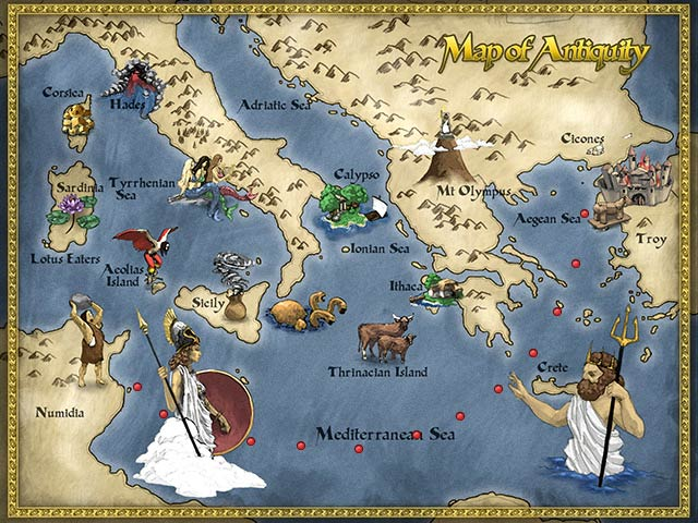 The Odyssey: Winds of Athena Game screenshot 2