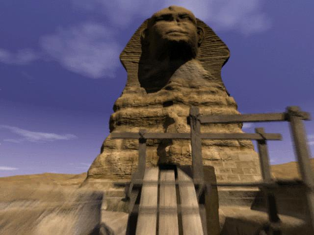 The Omega Stone: Riddle of the Sphinx 2 Game screenshot 1
