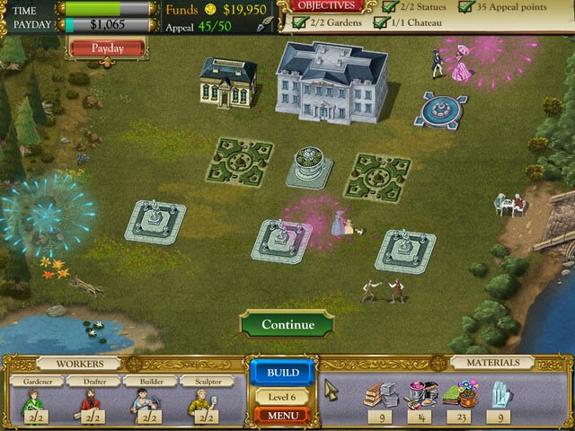 The Palace Builder Game screenshot 1