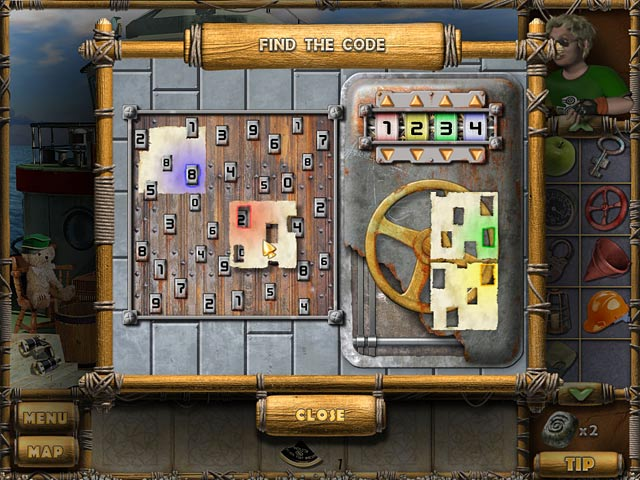 The Treasures of Mystery Island Game screenshot 2