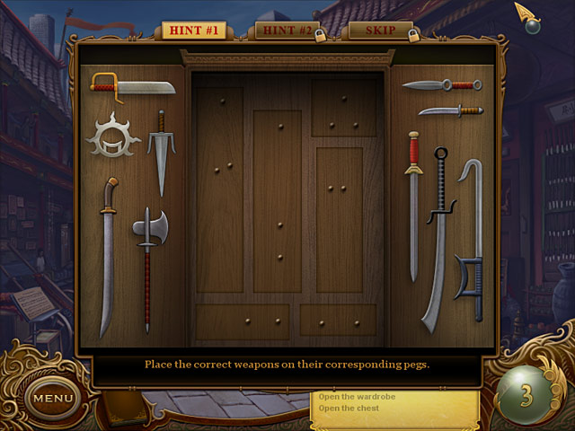 Tiger Eye: Part I: Curse of the Riddle Box Game screenshot 2