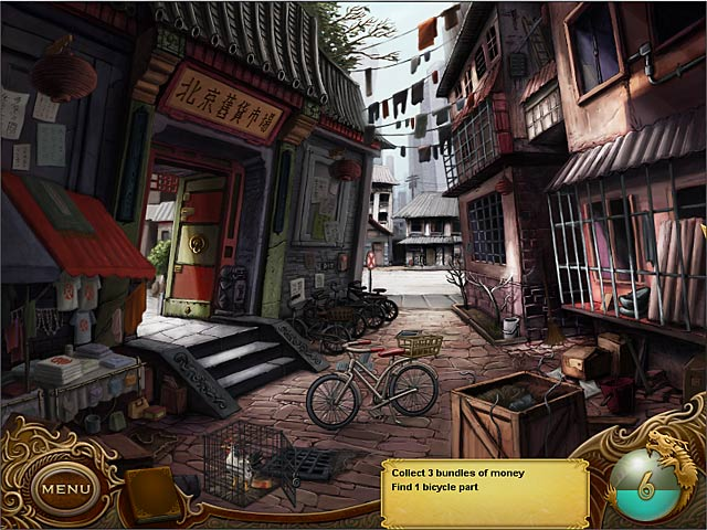 Tiger Eye: Part I: Curse of the Riddle Box Game screenshot 3