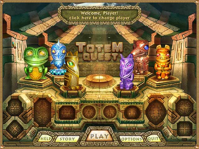 Totem Quest Game screenshot 1