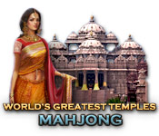 Free World's Greatest Temples Mahjong Game