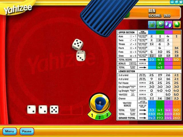 Yahtzee Game screenshot 3