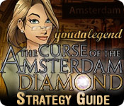 Free Youda Legend: The Curse of the Amsterdam Diamond Strategy Guide Game